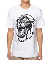 Concrete Jungle Lion Teeth Tee Shirt