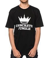 Concrete Jungle Logo Tee Shirt