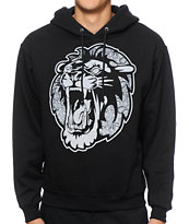 Concrete Jungle Paisley Lion Hoodie
