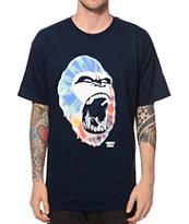Concrete Jungle Tie Dye Gorilla City Teeth T-Shirt