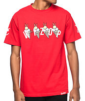 Cookies X Wizop Tha Hard Way camiseta roja