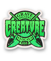 Creature Grave Diggers Sticker