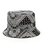 Cristals Bandana Reversible Bucket Hat