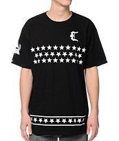 Crooks & Castles All Star Team Black Tee Shirt