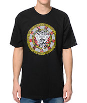 Crooks & Castles Exquisite Black Tee Shirt
