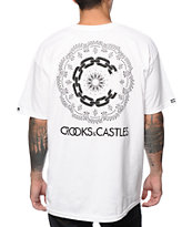 Crooks & Castles Paisley Chain Tee Shirt