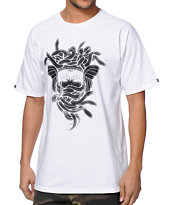 Crooks & Castles Vandal Medusa White T-Shirt