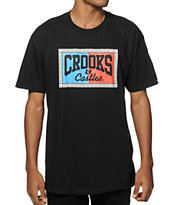 Crooks and Castles 3D Link Core Logo T-Shirt