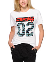 Crooks and Castles All City White T-Shirt