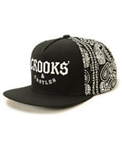 Crooks and Castles Bandit Snapback Hat
