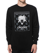 Crooks and Castles Bandito Crew Neck Sweatshirt