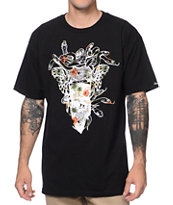 Crooks and Castles Bandito Endless Black Tee Shirt
