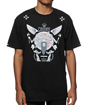 Crooks and Castles Battle Wing Medusa T-Shirt