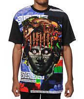 Crooks and Castles Blueprint Sublimated T-Shirt