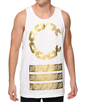 Crooks and Castles C-Link Stripe Tank Top