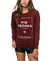 Crooks and Castles City Of Angels Crew Neck Sweatshirt