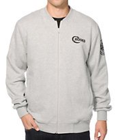 Crooks and Castles Cobra Zip Up Baseball Jacket