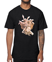 Crooks and Castles Composite Black T-Shirt