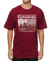 Crooks and Castles Crooks Landing T-Shirt