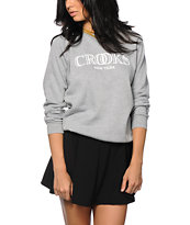 Crooks and Castles Crooks New York Crew Neck Sweatshirt