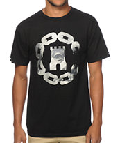Crooks and Castles Currency Chain Tee Shirt