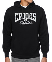Crooks and Castles Currency Core Black Pullover Hoodie