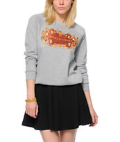 Crooks and Castles Decorated Crew Neck Sweatshirt