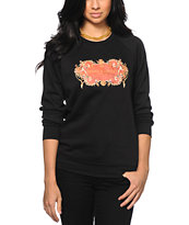 Crooks and Castles Decorated NYC Crew Neck Sweatshirt