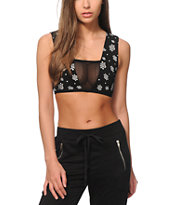 Crooks and Castles Digi Paisley Bralette
