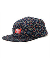 Crooks and Castles Elite Paisley 5 Panel Hat