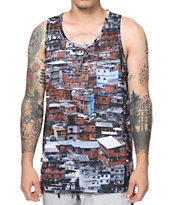 Crooks and Castles Favelas Tank Top