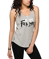 Crooks and Castles Femme Henley Tank Top
