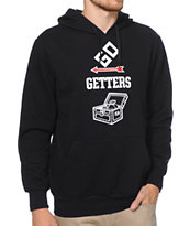 Crooks and Castles Go Getters Black Pullover Hoodie