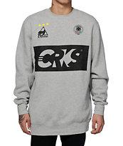 Crooks and Castles Goalkeeper Crew Neck Sweatshirt