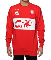 Crooks and Castles Goalkeeper Crew Neck Sweatshirt