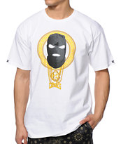 Crooks and Castles Goon Squad White Tee Shirt