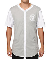 Crooks and Castles Greco Bandit Baseball Jersey
