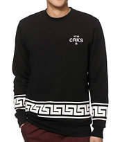 Crooks and Castles Greco Crew Neck Sweatshirt