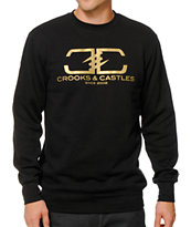 Crooks and Castles High Class Crew Neck Sweatshirt