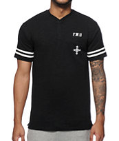 Crooks and Castles Hooligan Henley Pocket T-Shirt