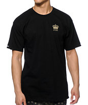 Crooks and Castles Imperial Black Tee Shirt