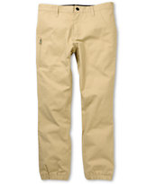 Crooks and Castles Khaki Jogger Pants