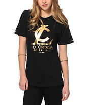 Crooks and Castles LC Gold Foil T-Shirt