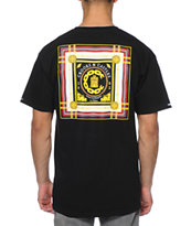 Crooks and Castles Lav Life Chain C Black Tee Shirt