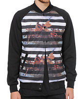 Crooks and Castles Liberated Baseball Jacket