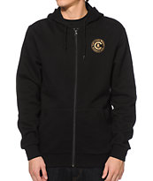 Crooks and Castles Linguistics Zip Up Hoodie