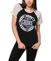 Crooks and Castles Link Up Raglan T-Shirt