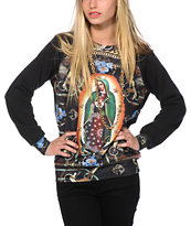 Crooks and Castles Mary Crew Neck Sweatshirt