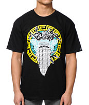 Crooks and Castles Medusa Repeat 2 Black Tee Shirt