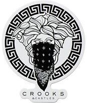 Crooks and Castles Medusa Sticker